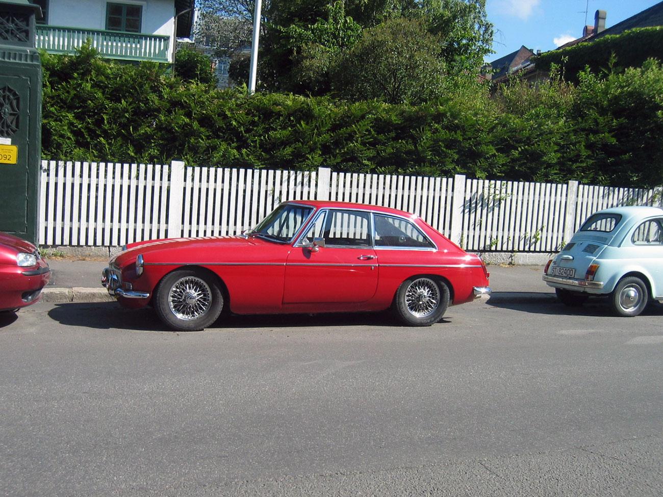1969 MG MGB GT Pininfarina coupe
