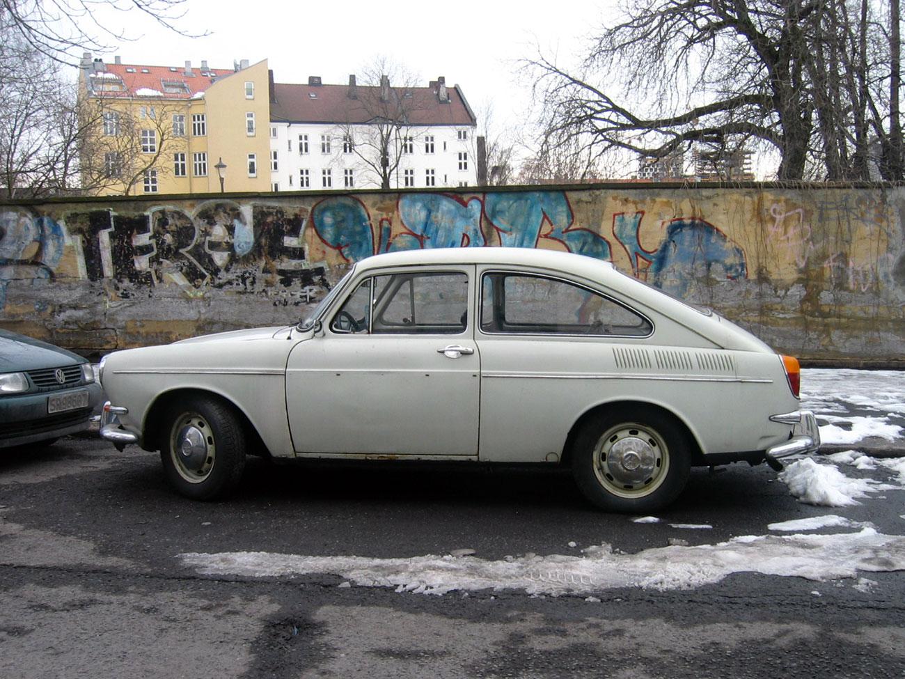 1969 Volkswagen 1600 TL Fastback Type 3