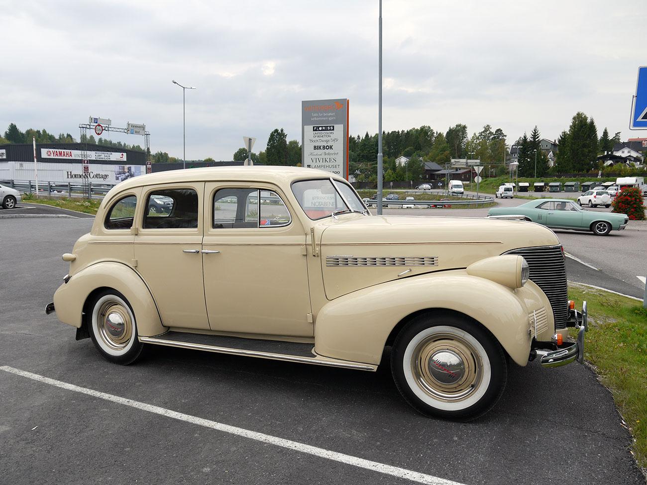 1939 Chevrolet Master 85 JB Sedan