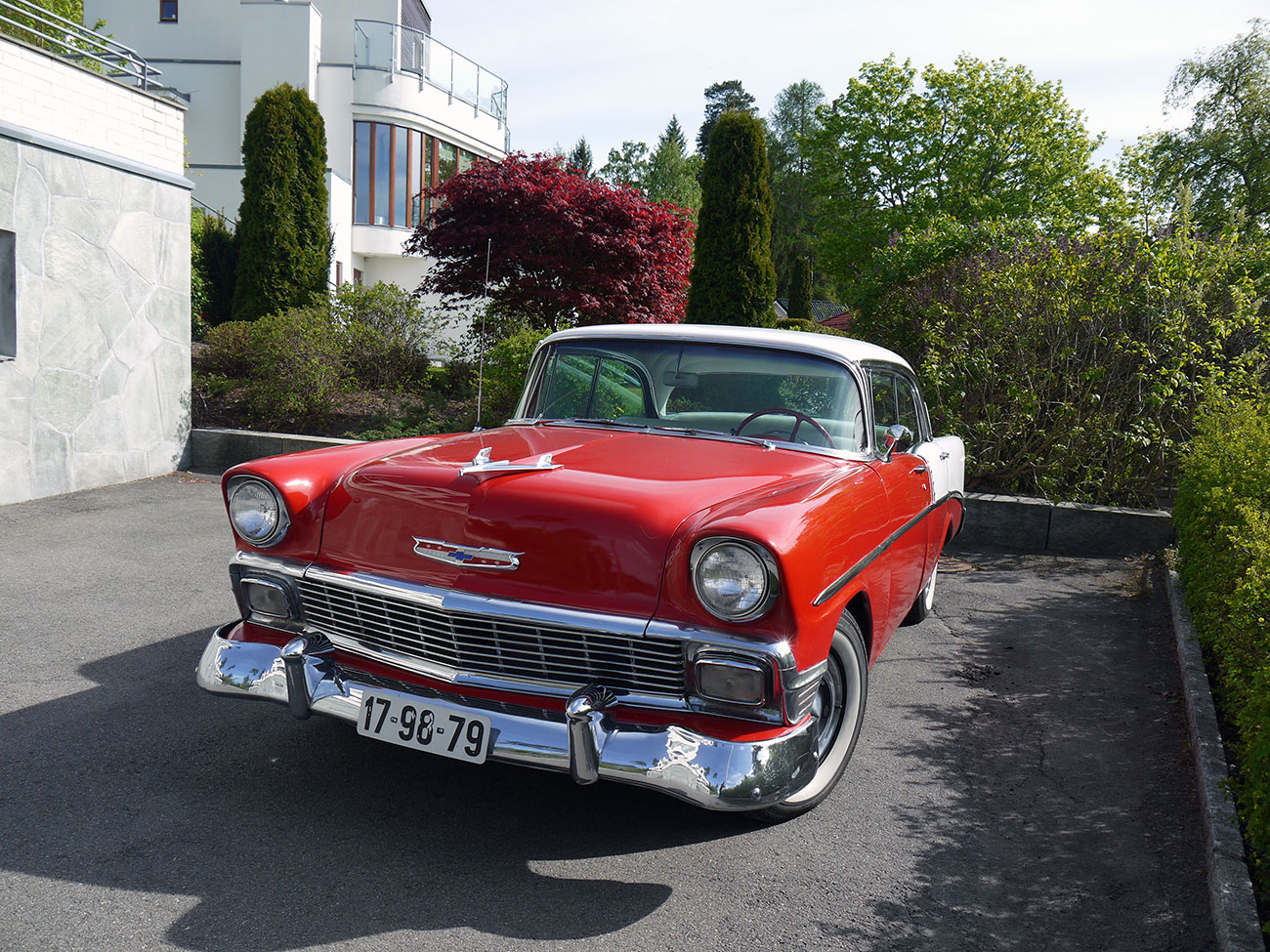 1956 Chevrolet two ten 210 bel air hardtop