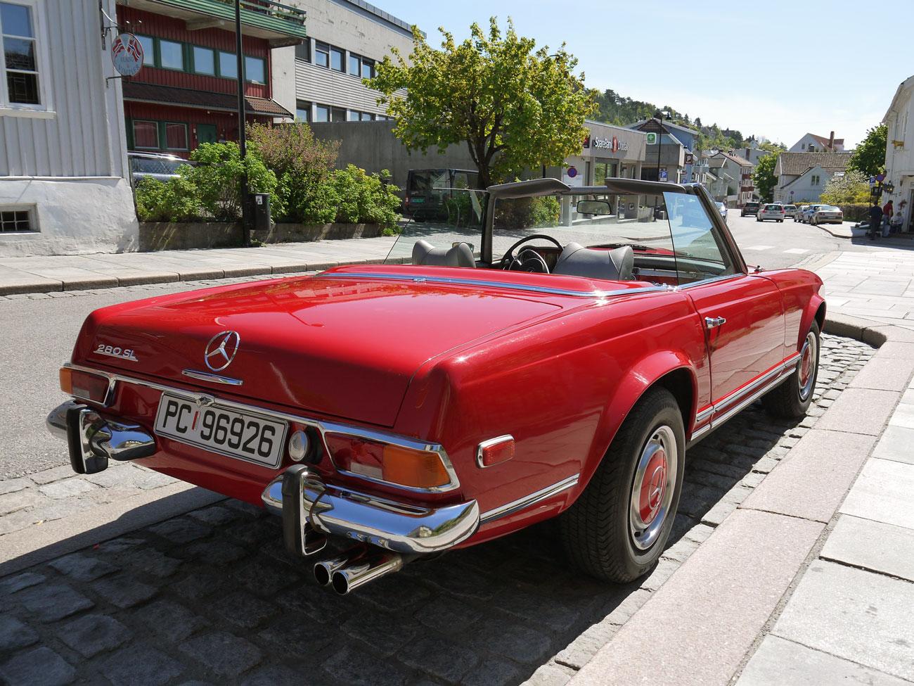 1971 Mercedes-Benz 280sl pagoda w113