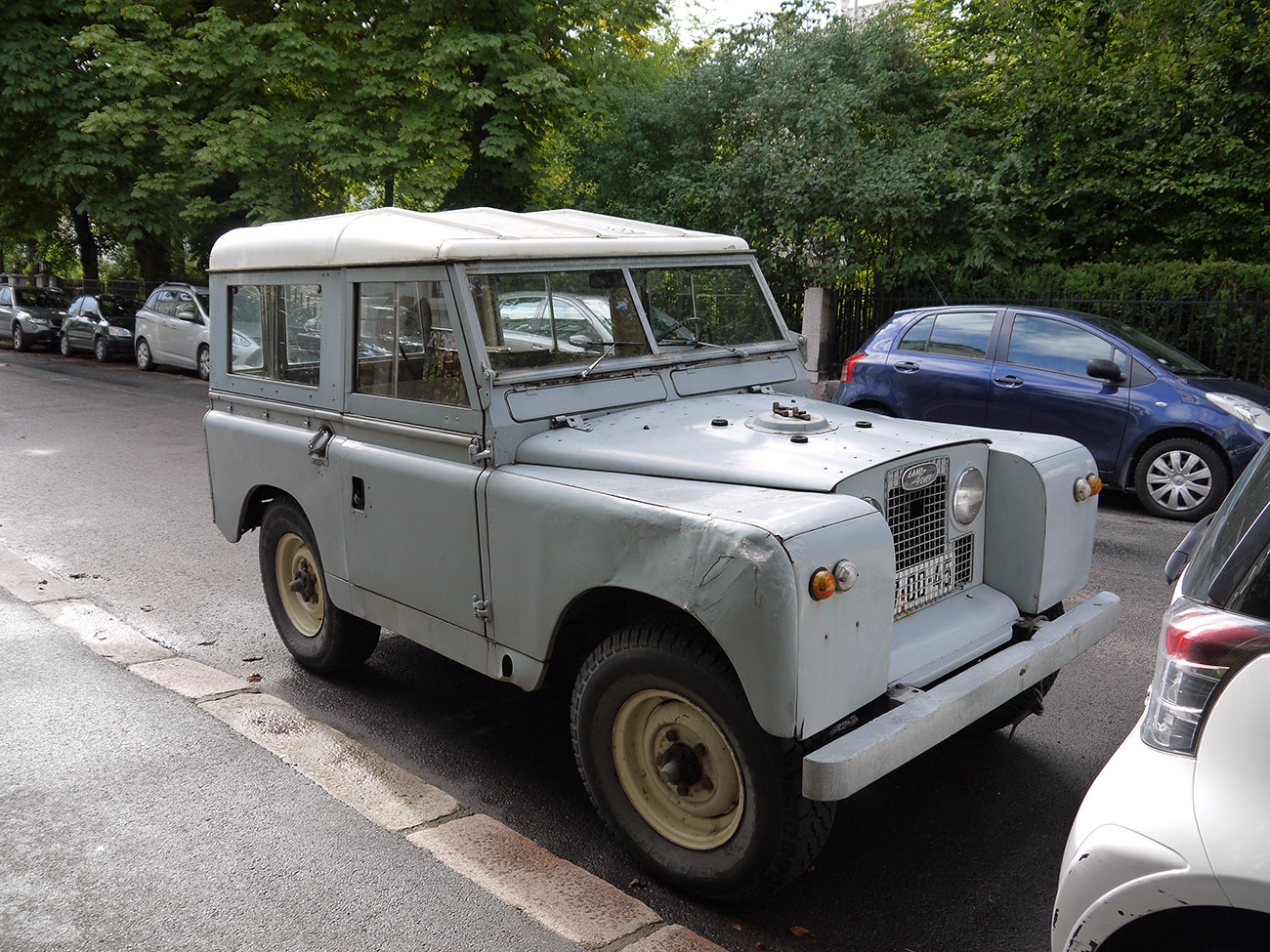 1968 Land Rover Series IIA 88 two door