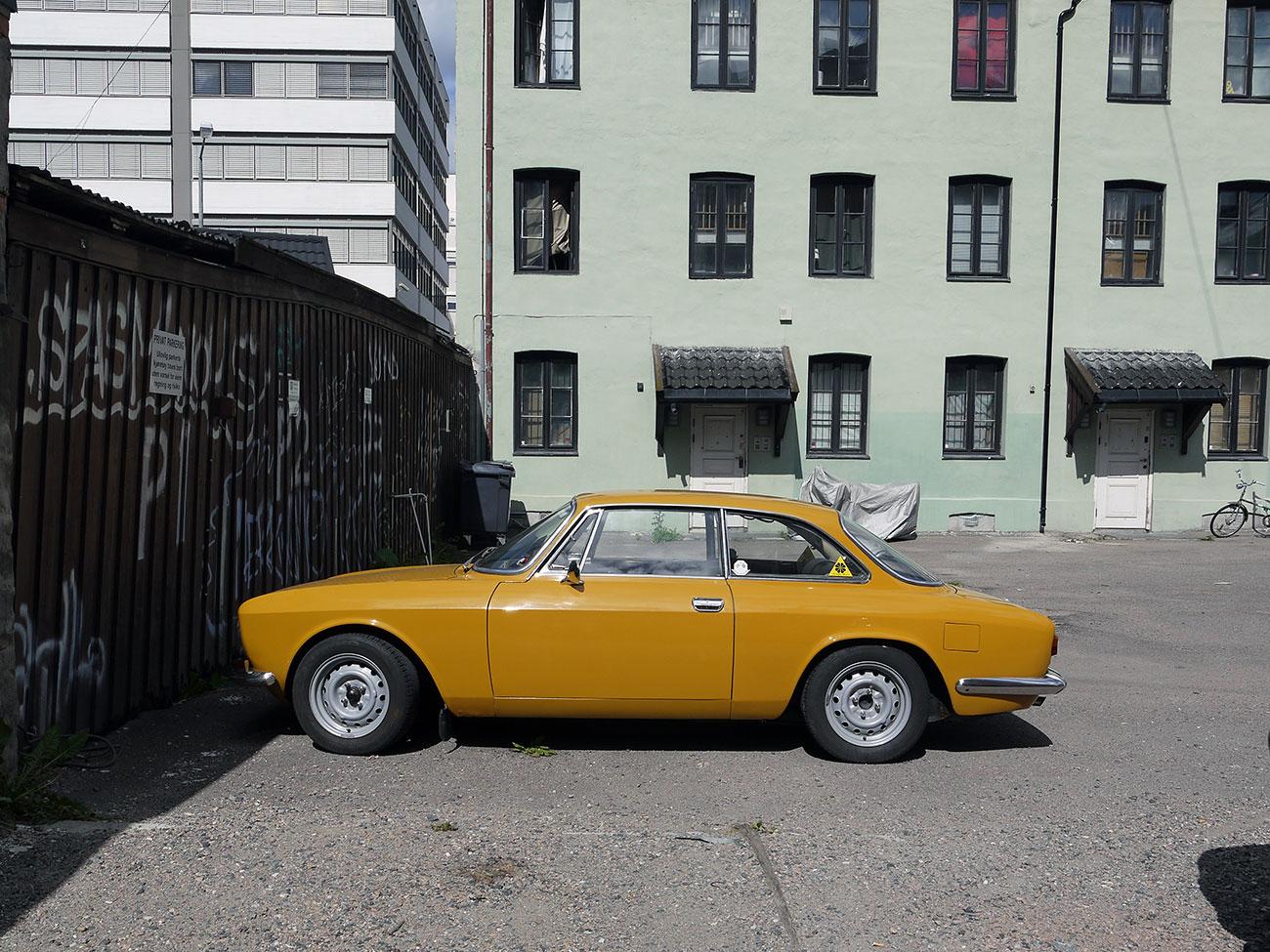 1969 Alfa Romeo 1750 GT Veloce bertone coupe 105