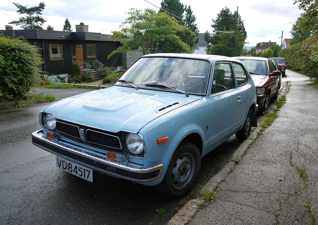 1976 Honda Civic first generation japanese classic car