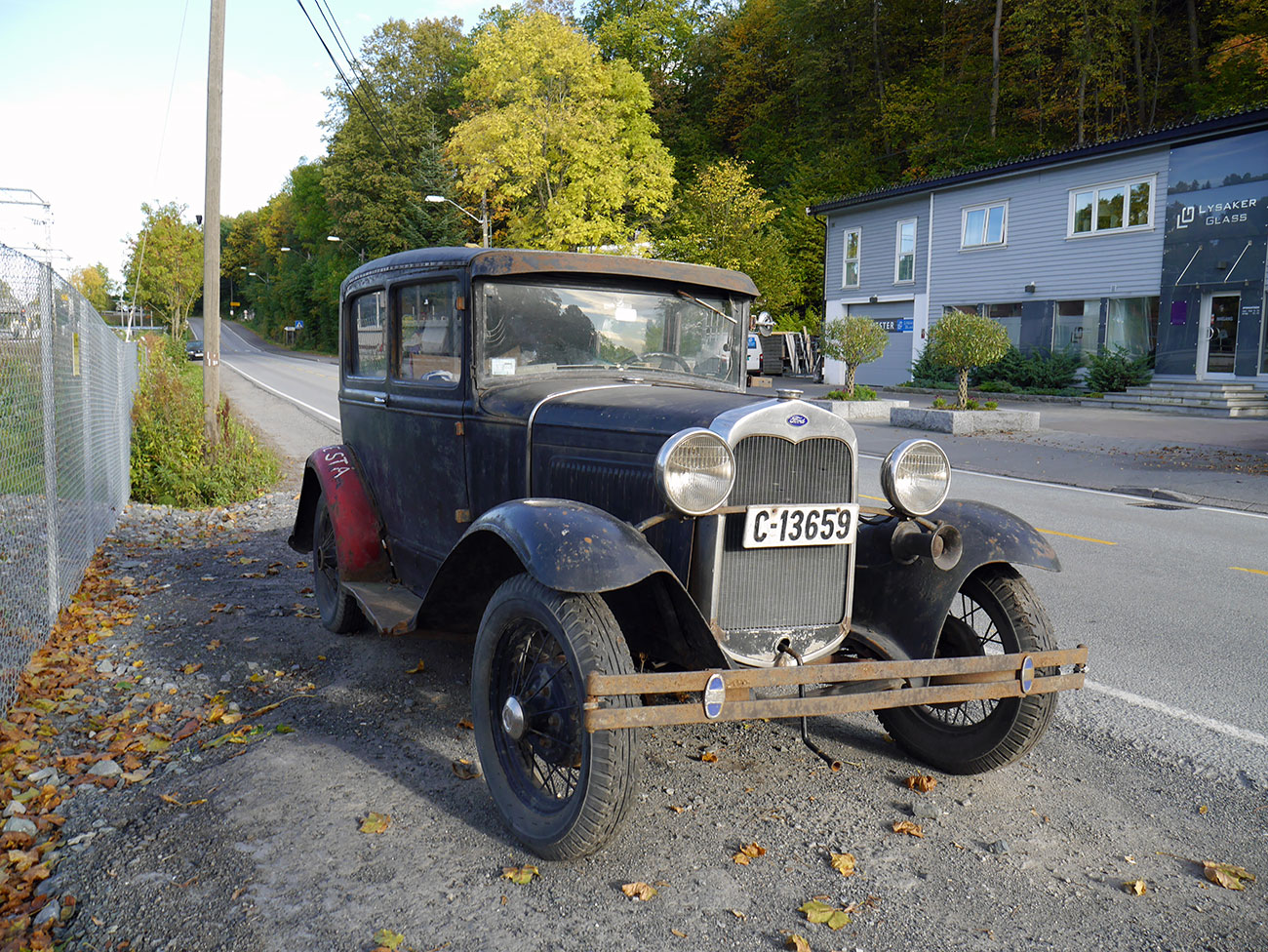1931 Ford Model A Tudor patina survivor