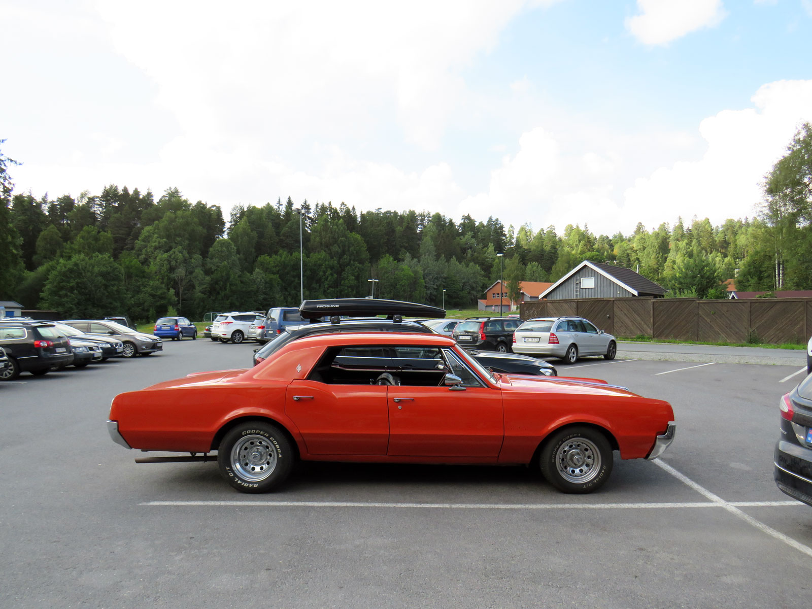 1967 Oldsmobile Cutlass four door hardtop norway parked cars