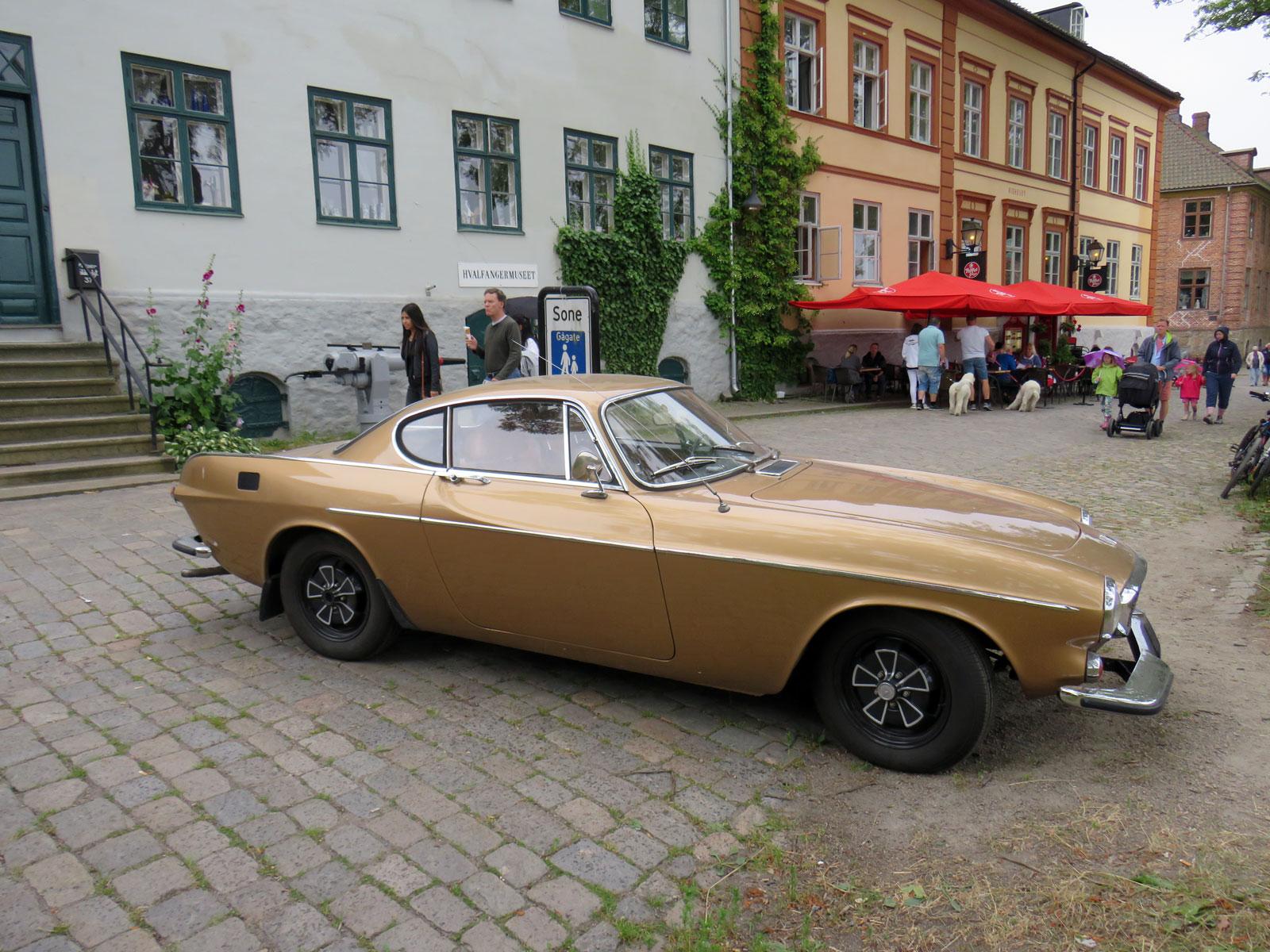 1971 Volvo P1800 Fredrikstad gamlebyen classic cars