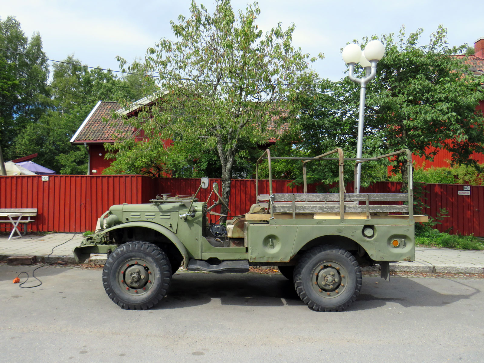 1943 Dodge WC-52 Power Wagon ww2 car oslo