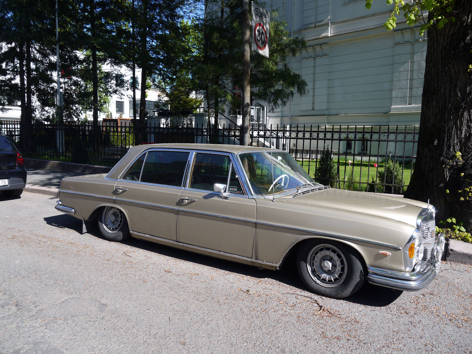 1971 Mercedes-Benz 300 SEL 3.5 W108 W109 Oslo Norway