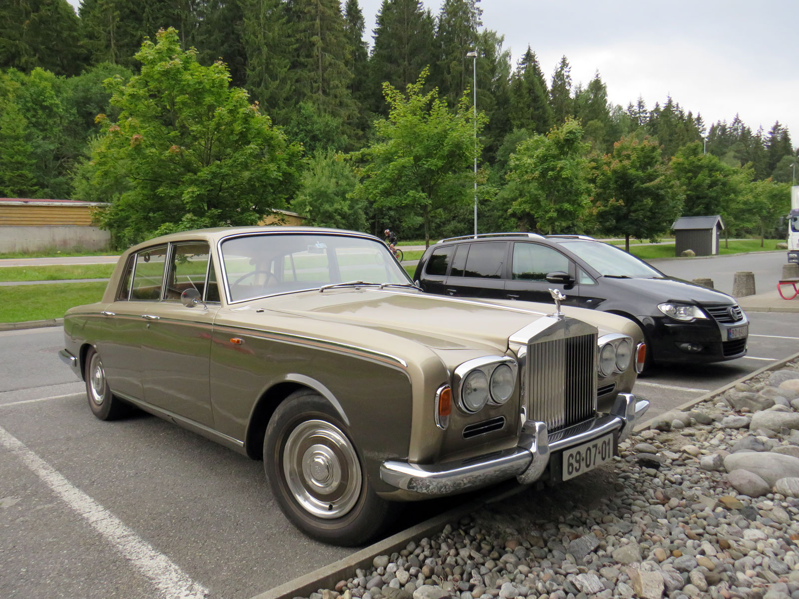 1969 Rolls-Royce Silver Shadow British luxury car Norway