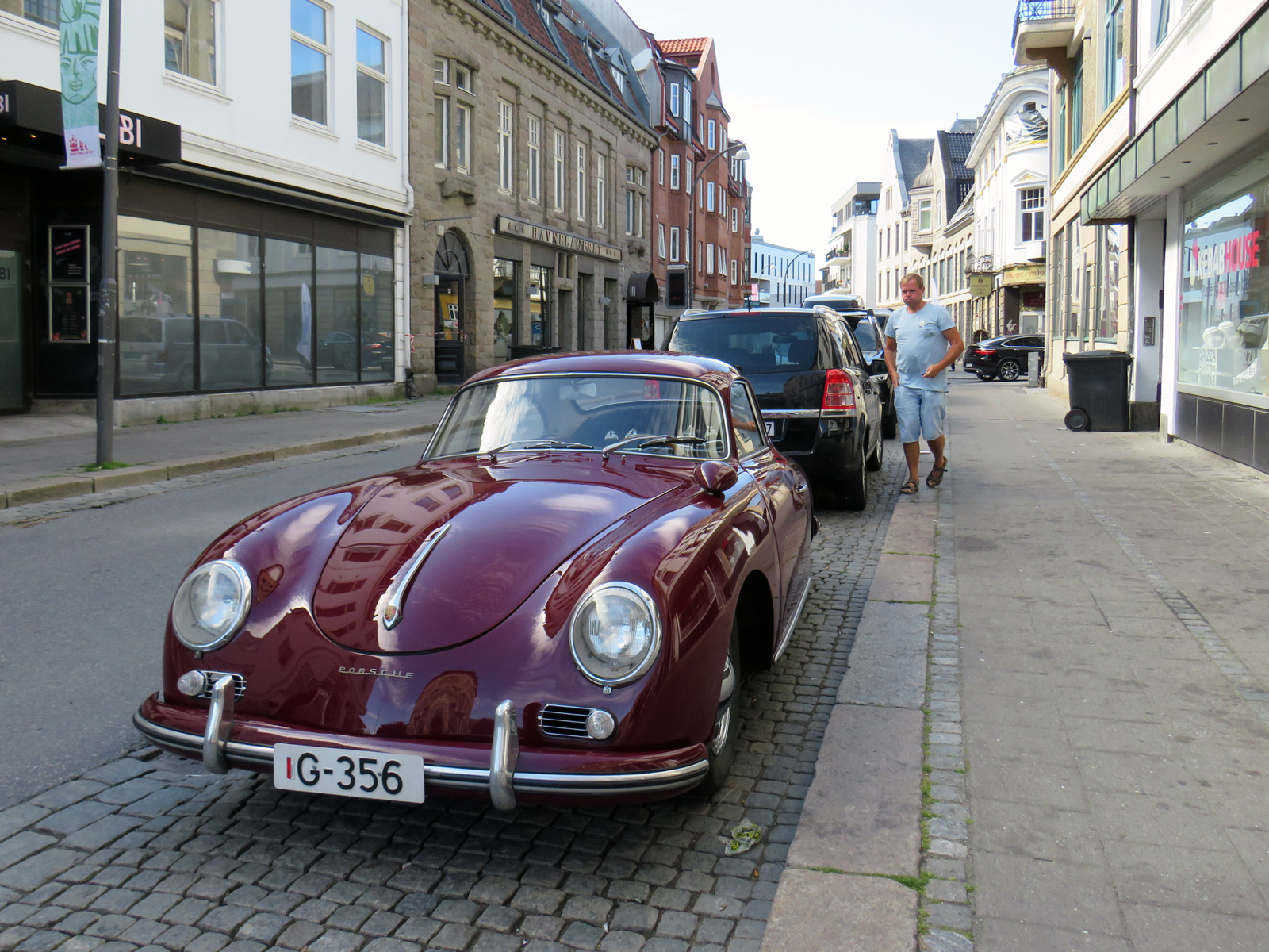 1957 Porsche 356 A Type 1 Sports car Norway