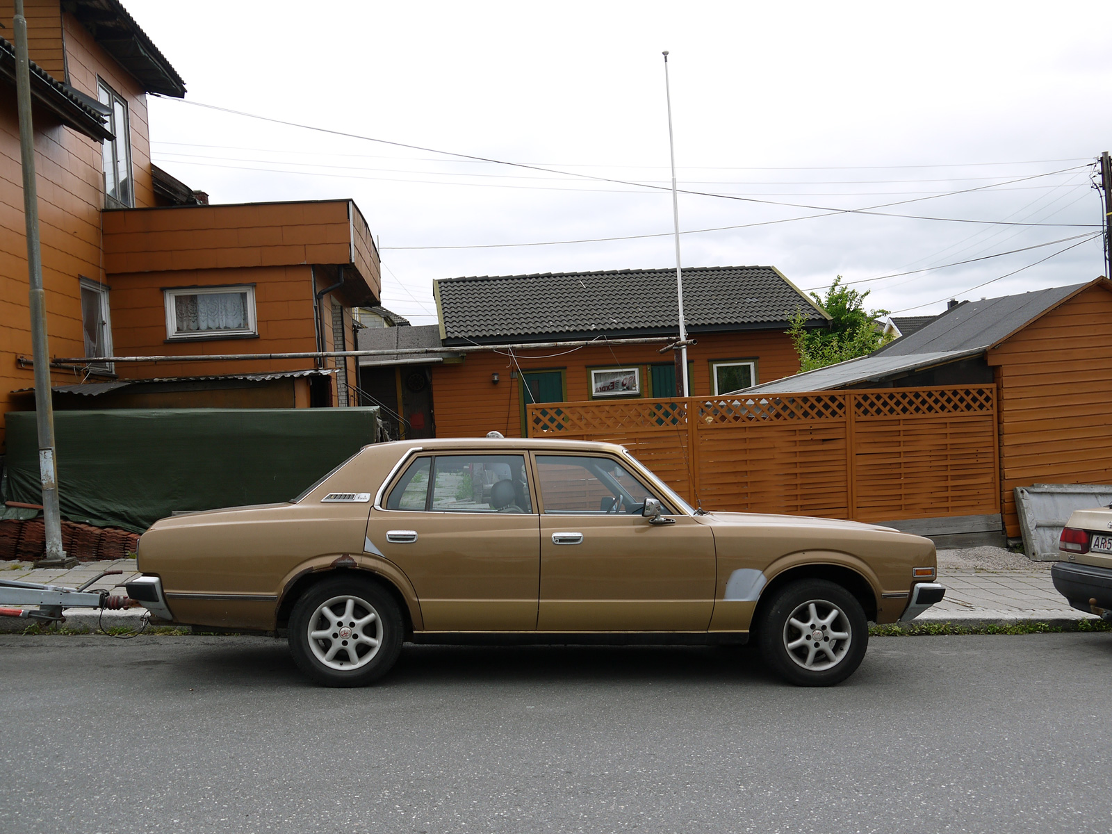 1979 Toyota Crown 2600 Deluxe Sarpsborg Norway Parked cars