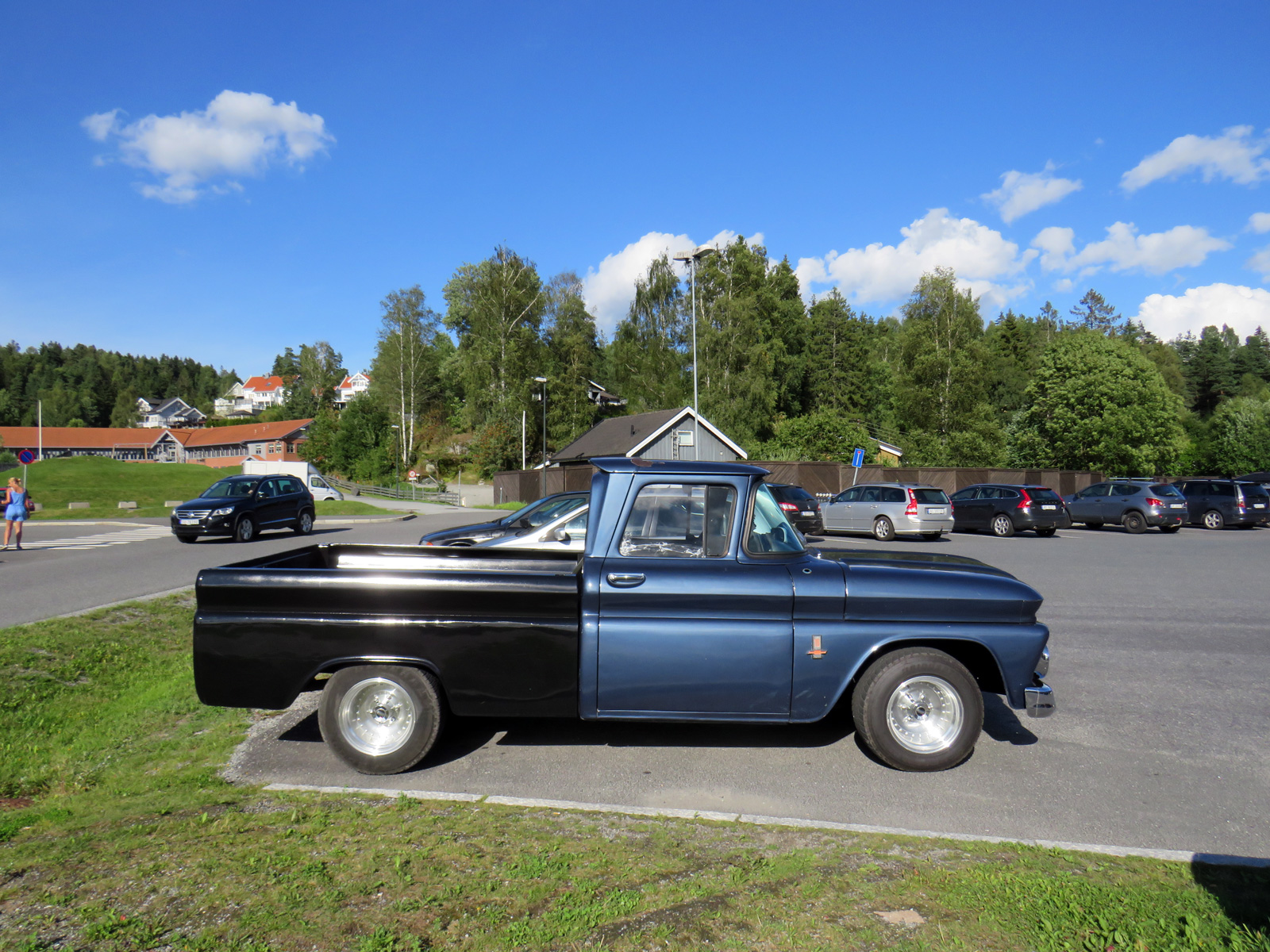 1963 Chevrolet C-10 C/K Stepside Old American pickup
