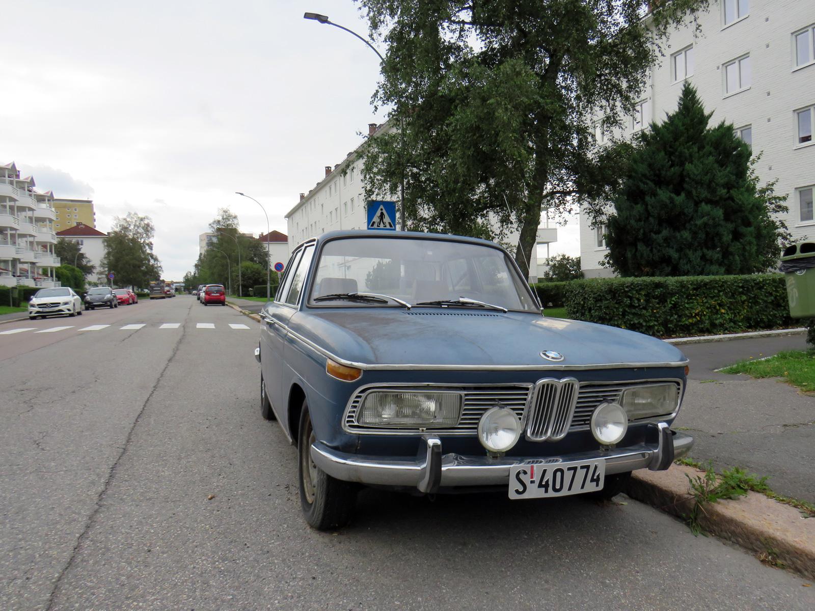 1970 Bmw 2000 New Class e10 Oslo classic cars
