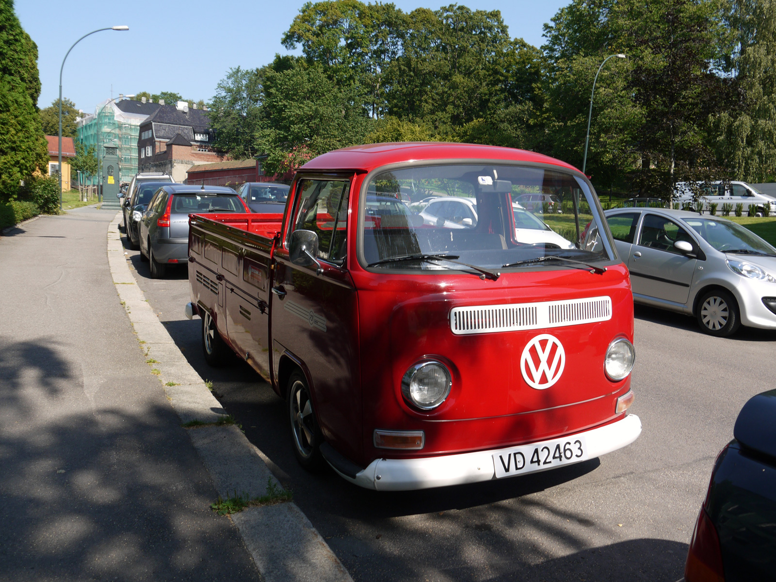 1972 Volkswagen Transporter Typw 2 Single cab pickup Norway Oslo