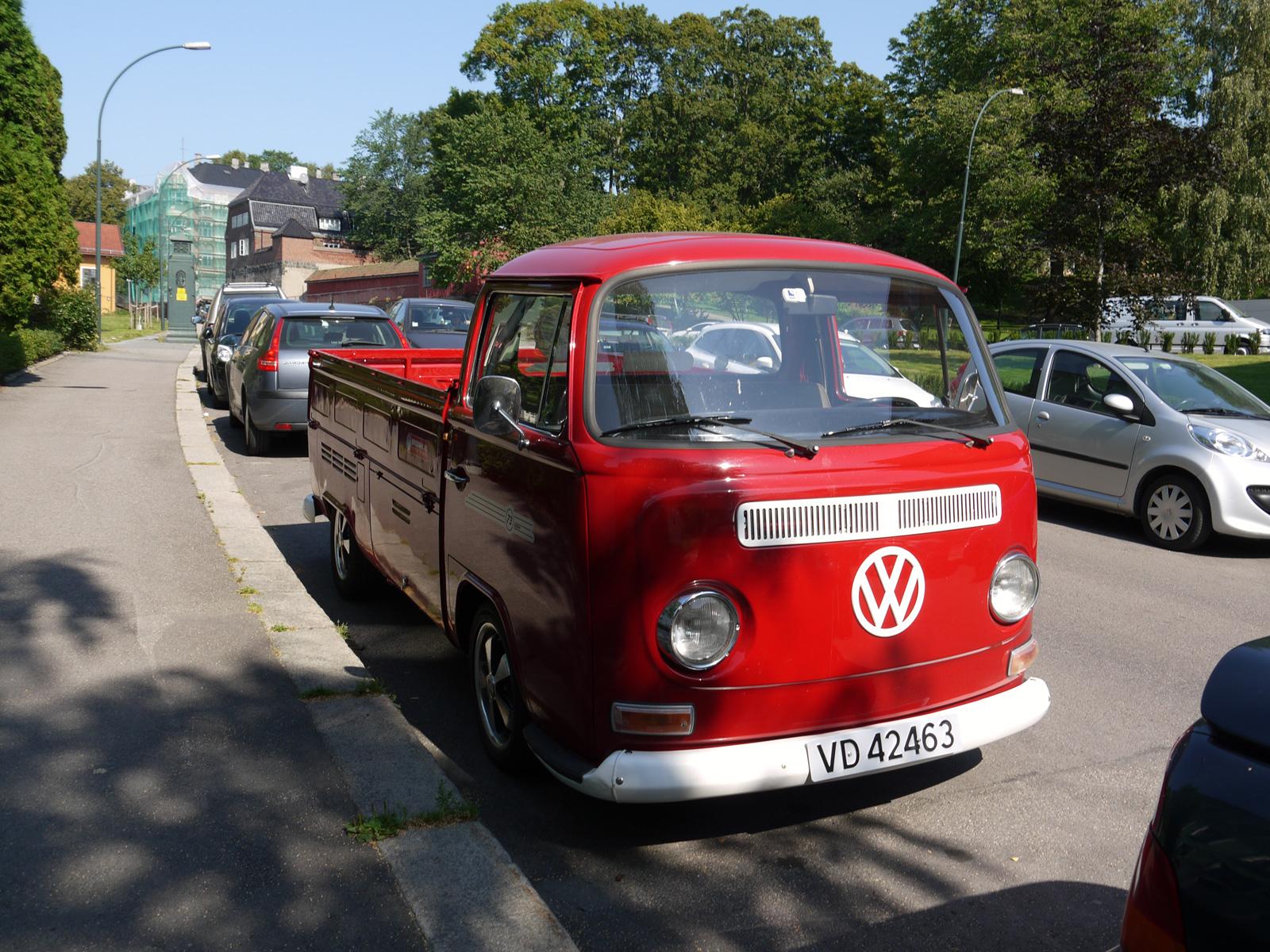 1972 Volkswagen Transporter Typw 2 Single cab pickup Norway Oslo