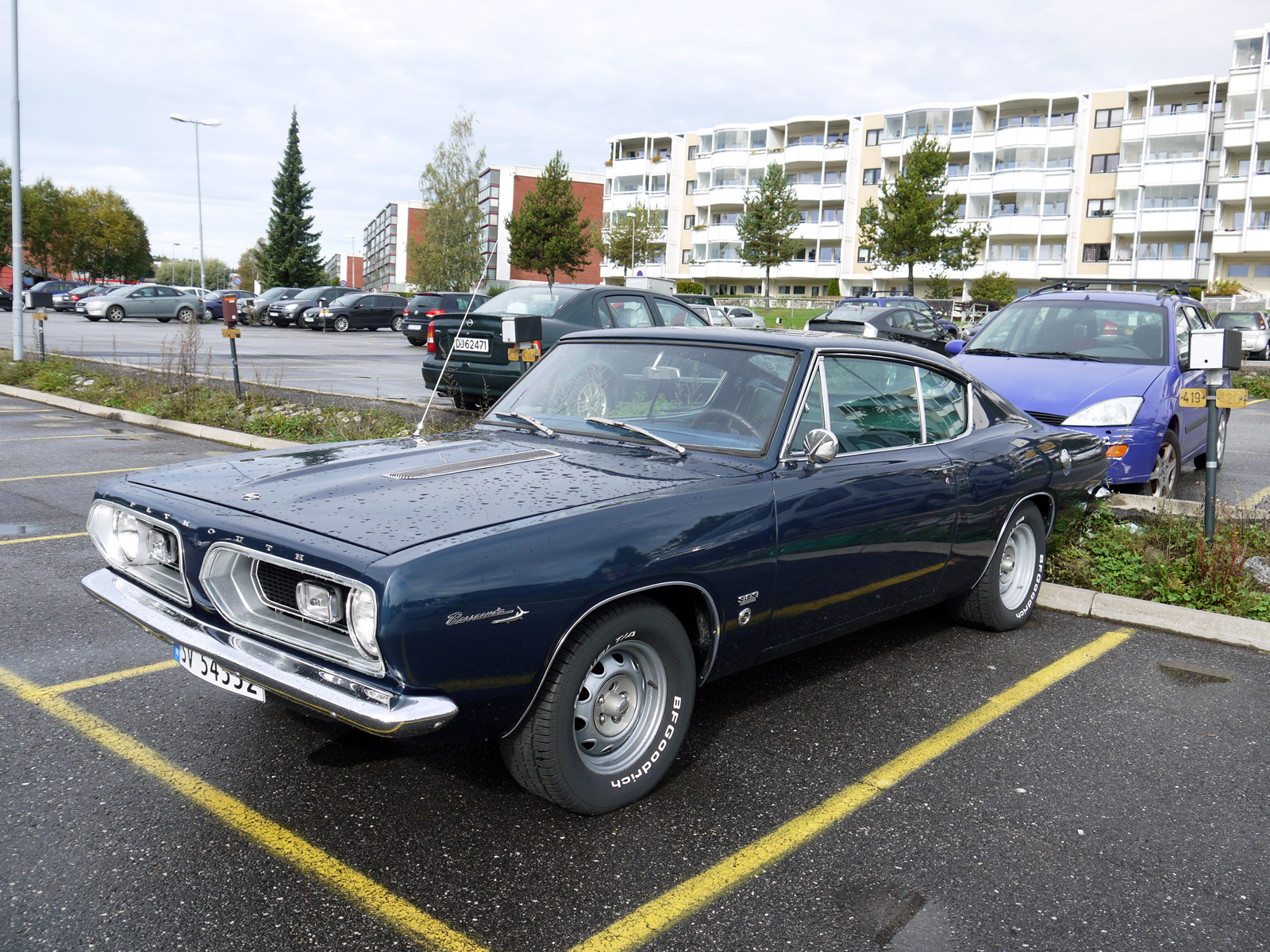 1967 Plymouth Barracuda Muscle pony car oslo Norway