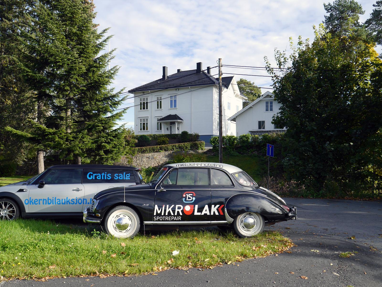 1956 Dkw 3=6 Sonderklasse F93 classic car Oslo Norway