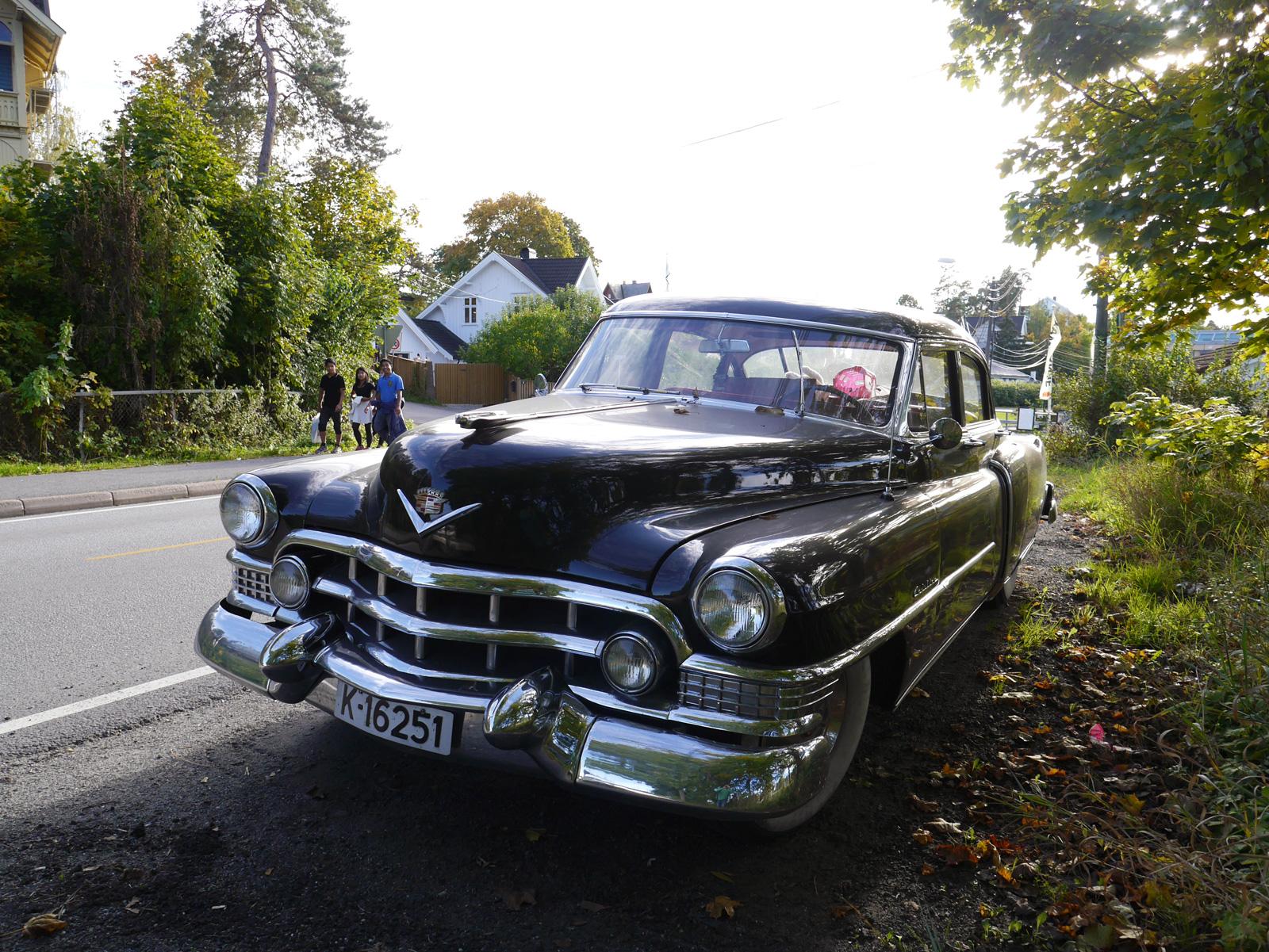 1951 Cadillac Series 62 Sedan Haryley Earl classic car Oslo Norway