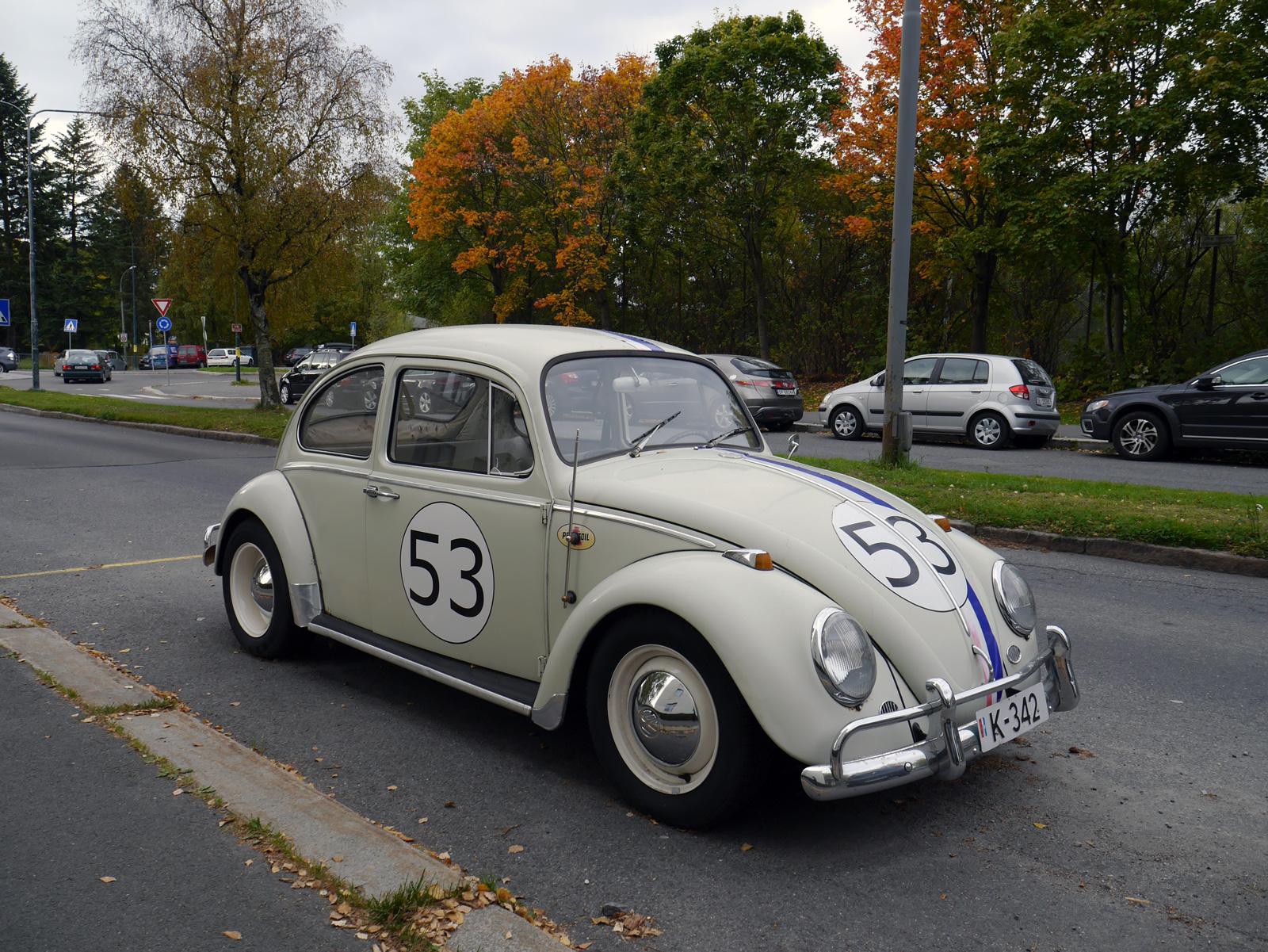 1966 Volkswagen 1300 boble beetle type 1 Oslo