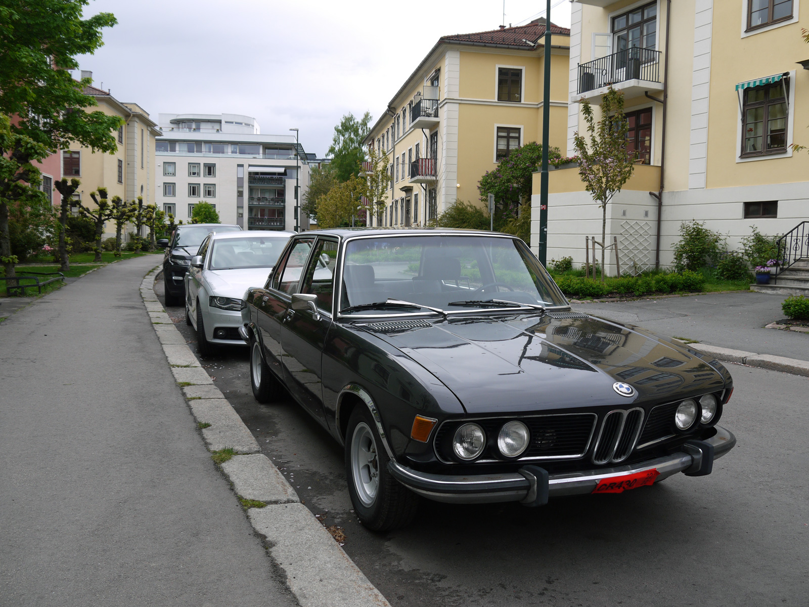 1970 Bmw 2800 e3 bavaria new six oslo old parked cars