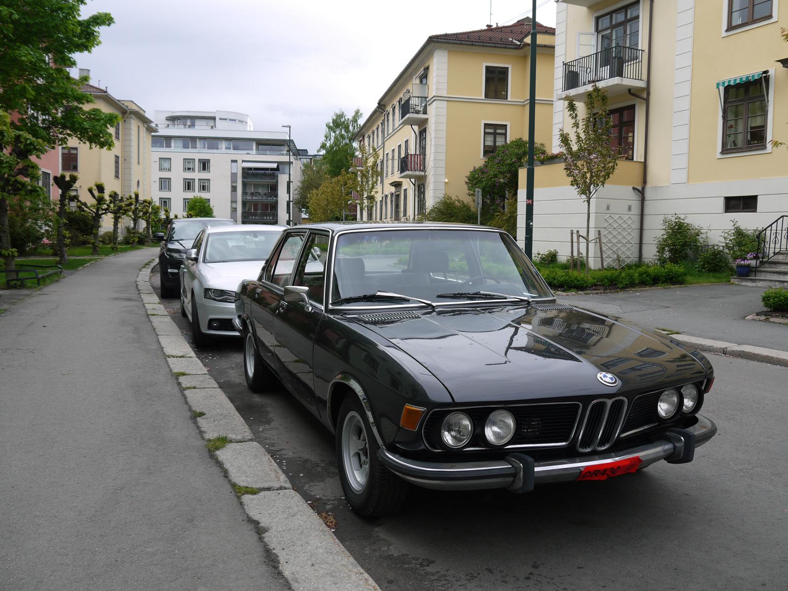 1970 Bmw 2800 e3 bavaria new six oslo old parked cars