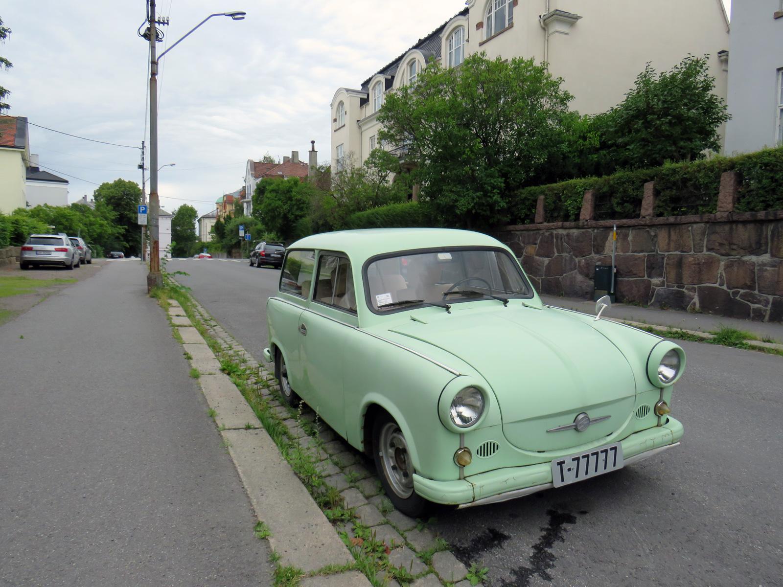 1962 Trabant P50 Universal Sachsenring Automobilwerke Zwickau classic cars
