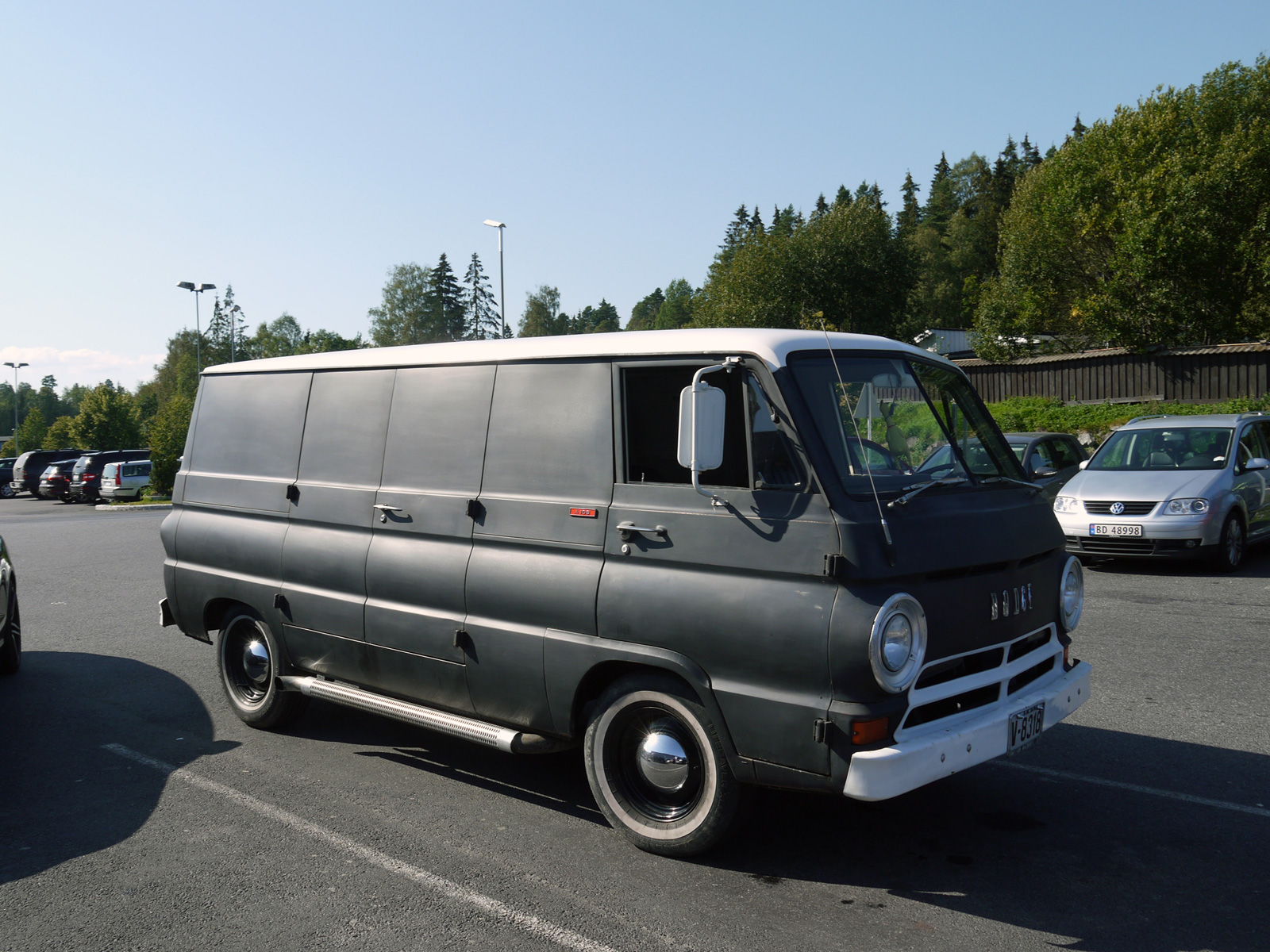 1968 Dodge Tradesman A108 A100 forward control van