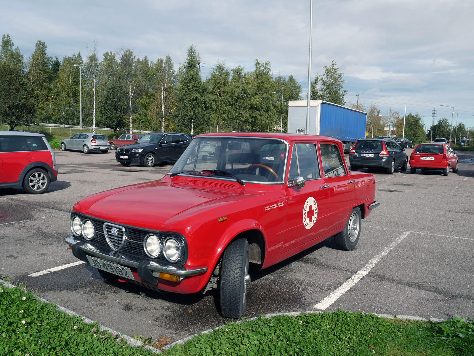 1977 Alfa Romeo Giulia Nuova Super 1600 105