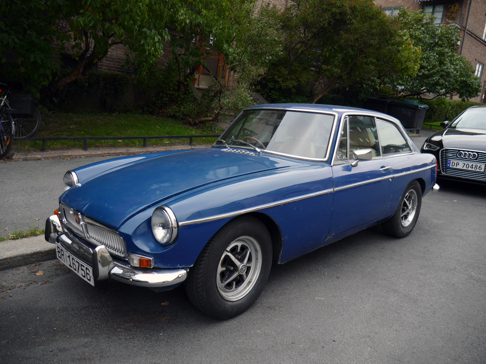1974 Mg Mgb Gt Pininfarina old pared cars