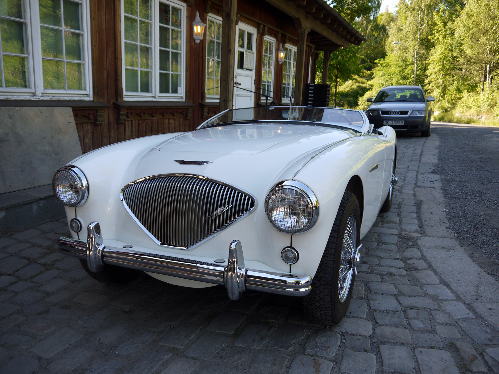 1956 Austin-Healey 100 BN2 Roadster british sports car oslo