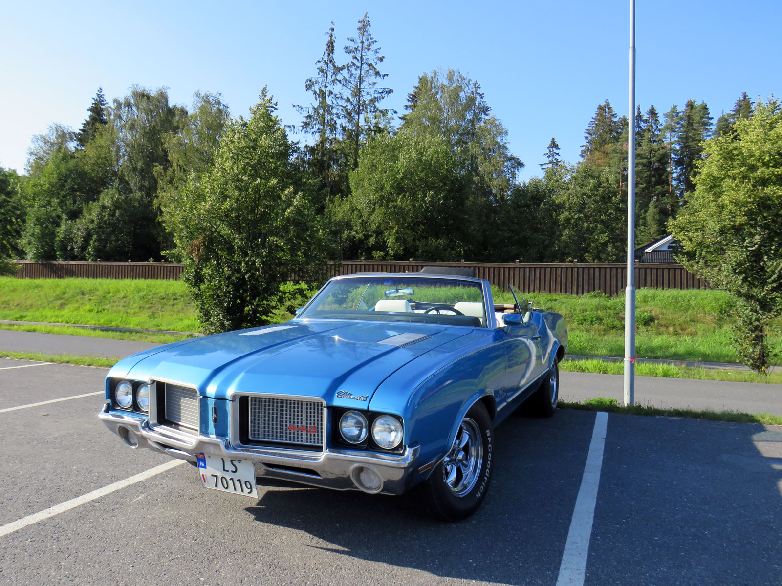 1972 OLDSMOBILE 442 Convertible Cutlass supreme
