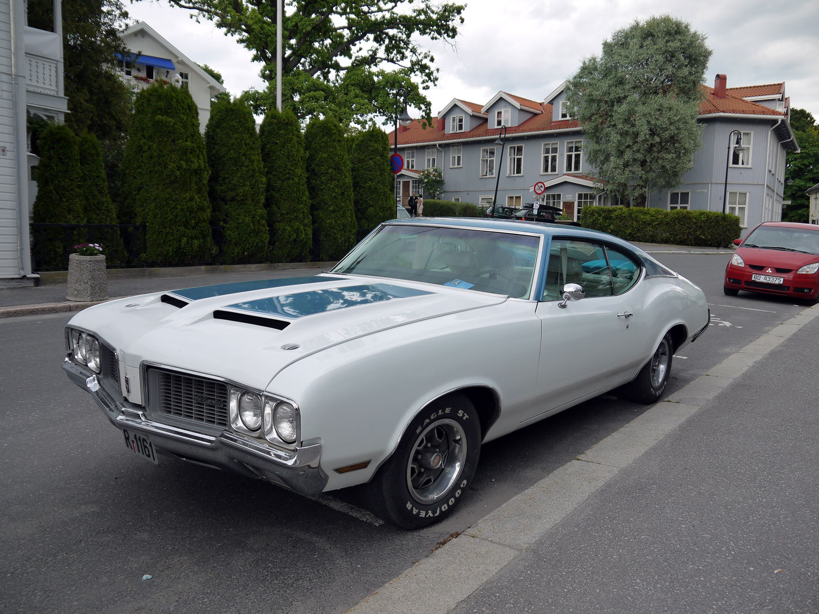 1970 OLDSMOBILE CUTLASS coupe