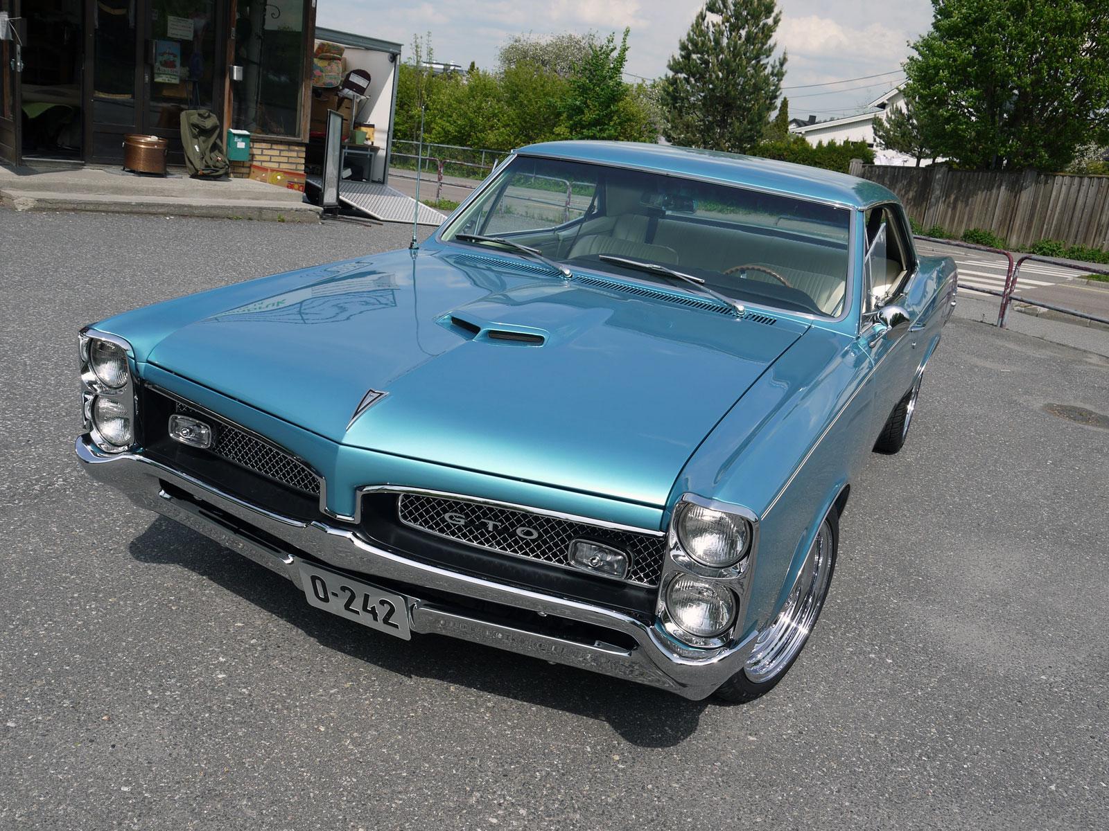 1967 Pontiac GTO tempest muscle car