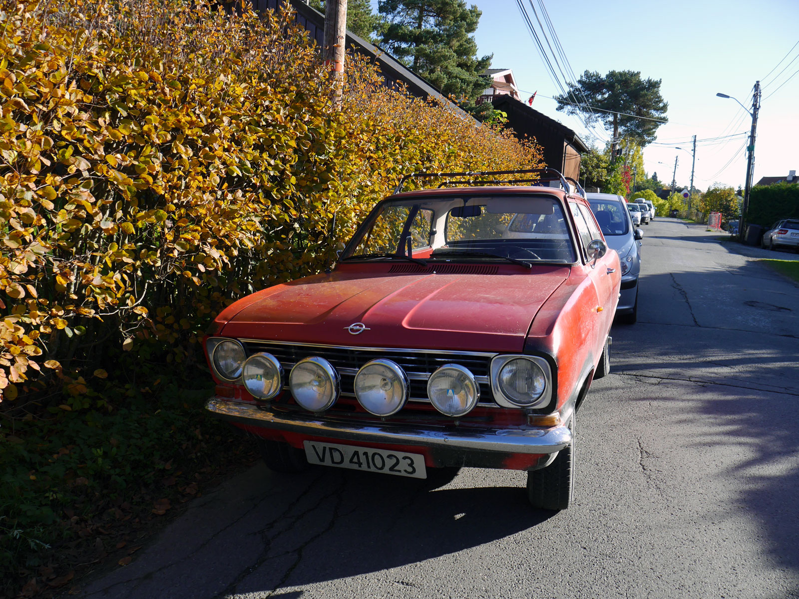 1972 Opel KADETT old parked cars norway