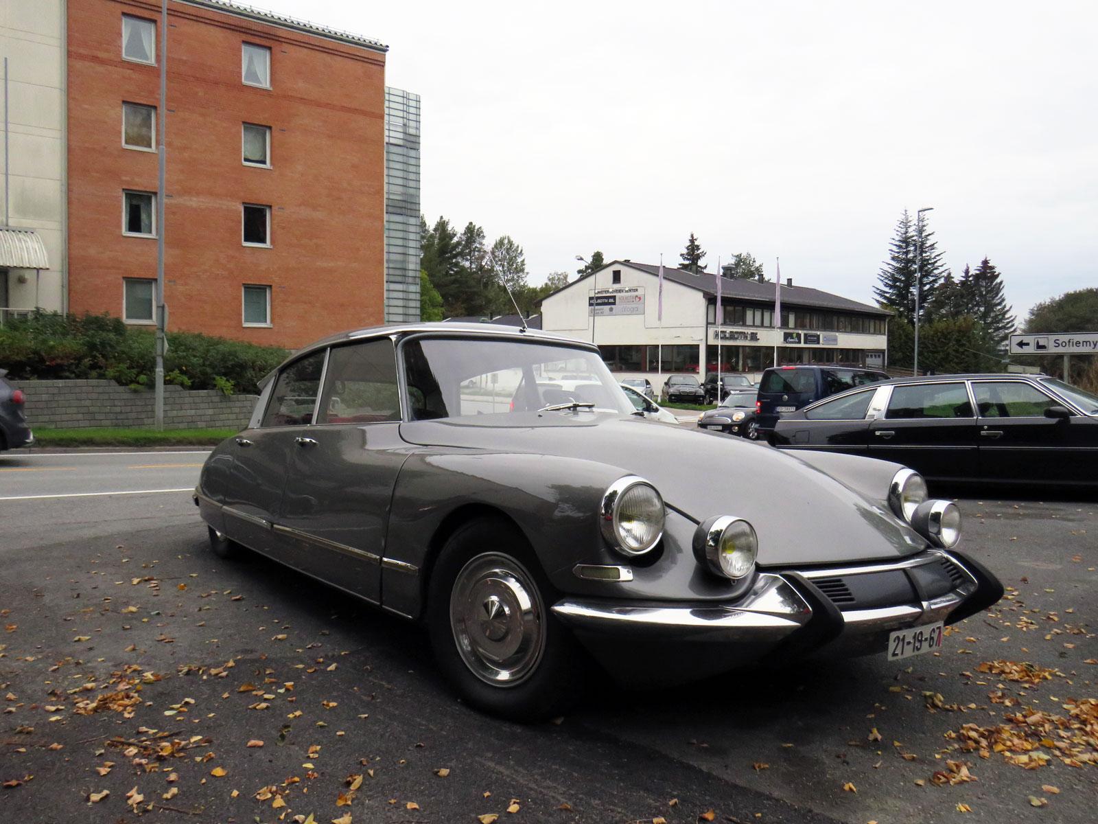 1967 CITROEN DS Oslo Kolbotn